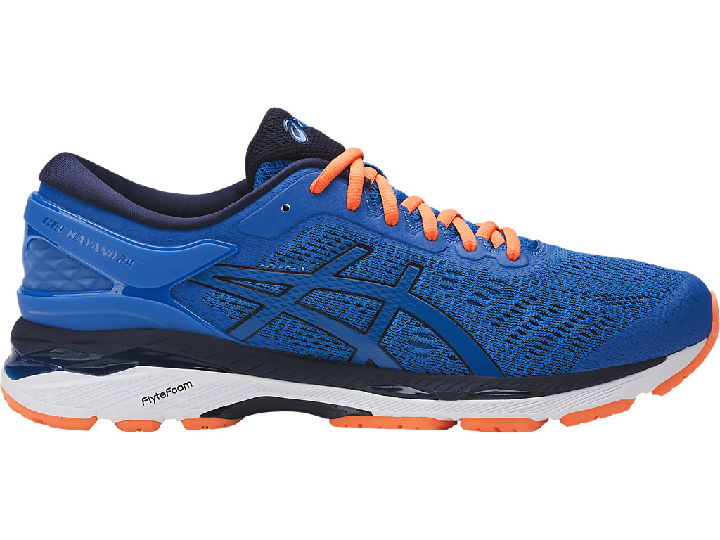 Asics GEL-KAYANO 24 M - Directorie Blue/Peacot/Hot Orange
