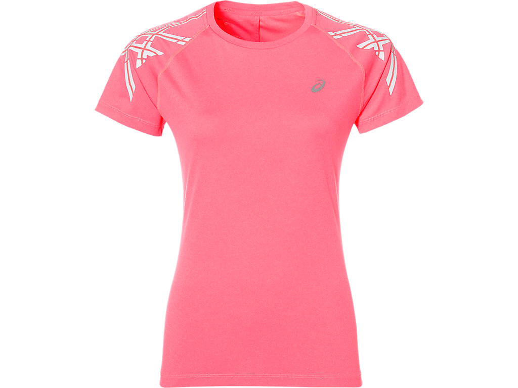 Футболка Asics Stripe SS Top W  - Diva Pink Heather