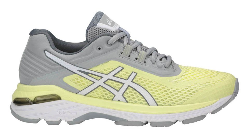 Asics GT-2000 6 W - Limelight / White / Mid Grey