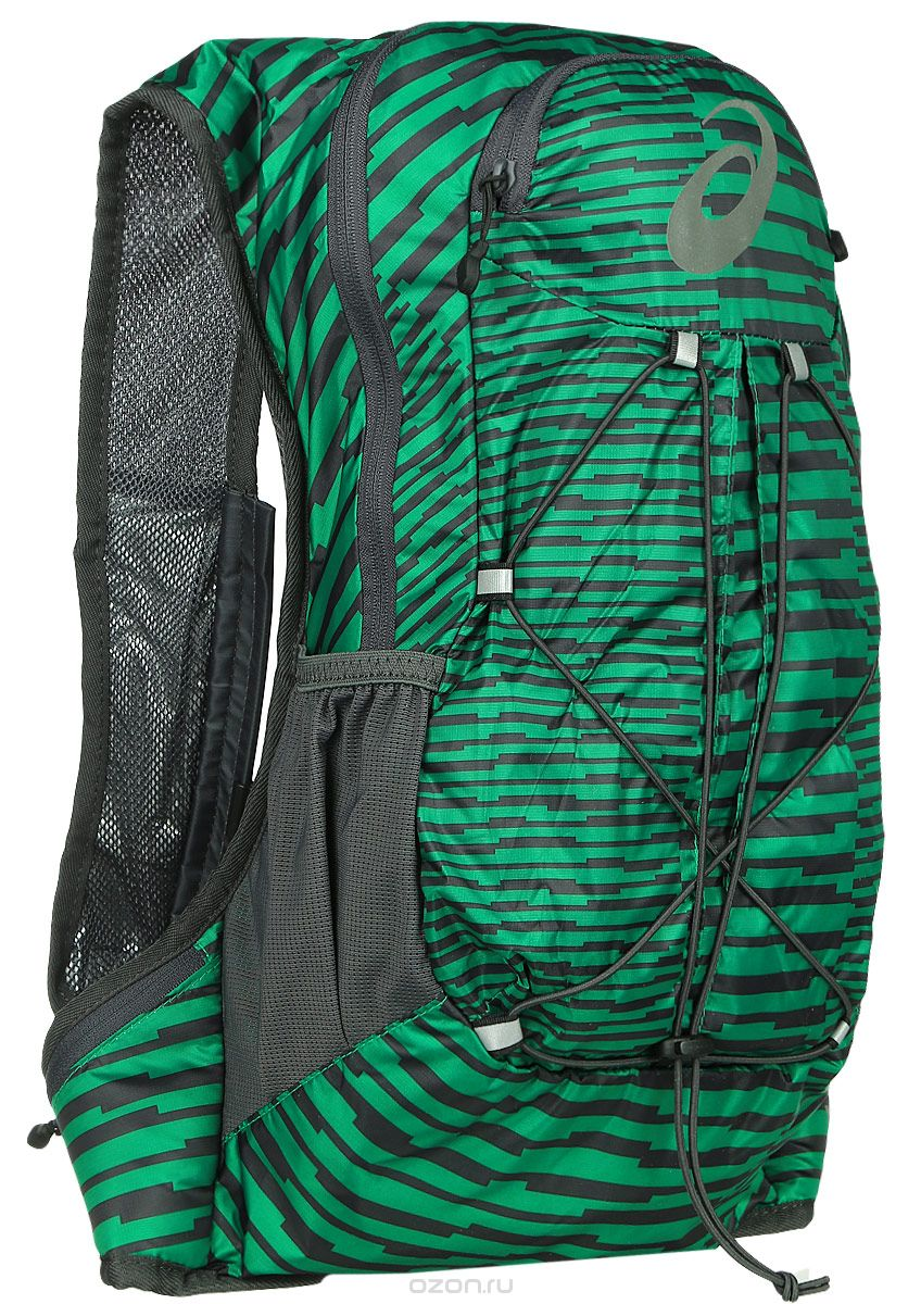 Рюкзак Asics Lightweight Running Backpack зеленый