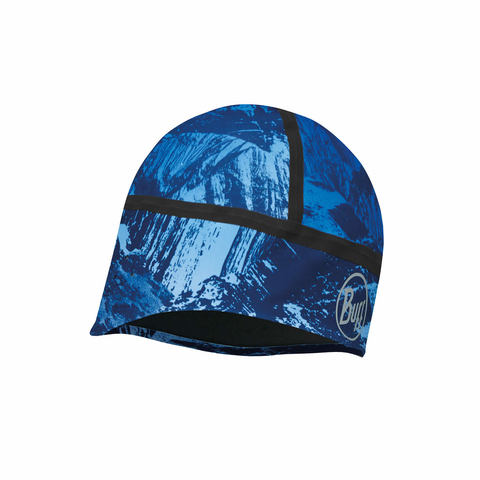 Шапка BUFF WINDPROOF HAT MOUNTAIN BITS BLUE M/L