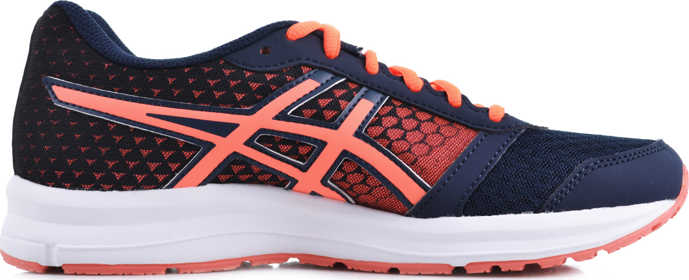 Asics PATRIOT 8 W - Dark Navy / Flash Coral / White